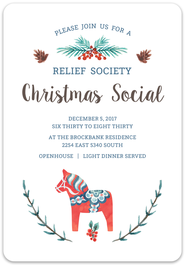 December 2017 Cottonwood Second Ward Relief Society